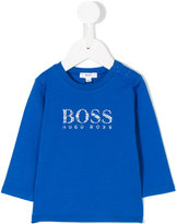 HUGO BOSS logo long sleeve T-shirt