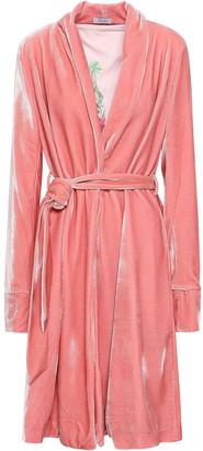 Isolda Reversible Velvet Coat