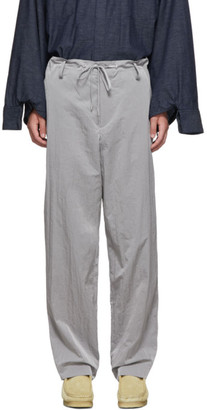 Fumito Ganryu Grey Warm Up Trousers