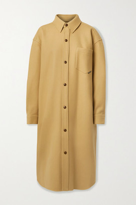 Alexander Wang Oversized Wool-blend Felt Coat - Camel