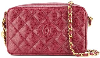 1994-1996 Chanel quilted chain shoulder bag