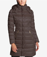 DKNY Seamed Down Puffer Coat, Created for Macy's