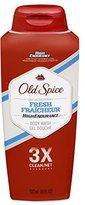 Old Spice High Endurance Body Wash, Fresh, 18 fl oz (532 ml), (Pack of 6)