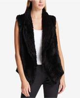 DKNY Faux-Fur Vest