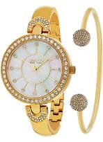 SO & CO So & Co Womens Gold Tone Bracelet Watch-Jp16297