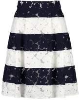 Taifun Pleated skirt marine