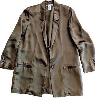 Diane von Furstenberg Green Polyester Jackets