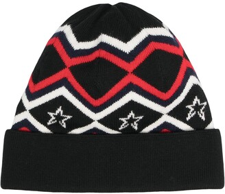 Perfect Moment Pattern Merino Beanie Hat