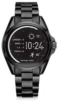 Michael Kors Access Bradshaw Black IP Stainless Steel Touchscreen Smartwatch