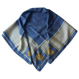 Van Cleef & Arpels Blue Silk Silk handkerchief