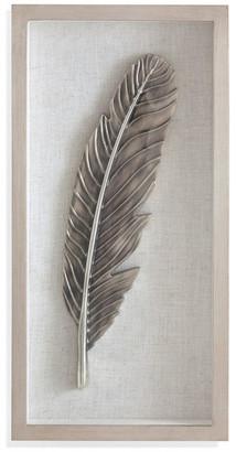 Bassett Mirror Co. Bellamy Feather Wall Hanging