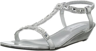 David's Bridal Touch Ups Women's Jazz Wedge Sandal
