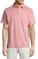 Peter Millar Crown Collection Soft-Stripe Polo Shirt