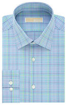 MICHAEL Michael Kors Slim Plaid Cotton Shirt