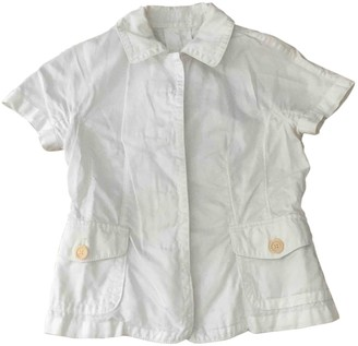 Henry Cotton White Cotton Jacket for Women