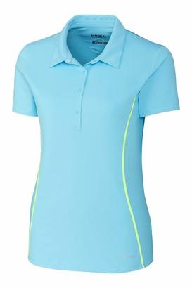 Cutter & Buck ANNIKA by Women's Short Sleeve Clutch 4 Button Polo