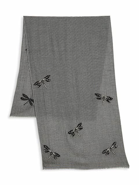 Thumbnail for your product : Janavi The Dragonfly Mystery Merino Wool Scarf