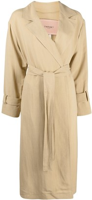 Twin-Set Mid-Length Trench Coat