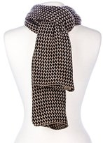 Noble Mount Mens Houndstooth Winter Scarf