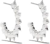 18kt white gold Danger Tribe earrings