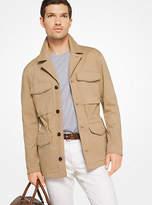 Michael Kors Cotton-Twill Field Jacket