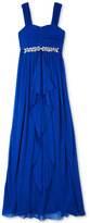 Amy Byer Embellished-Waist Maxi Dress, Big Girls (7-16)