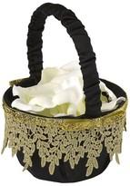 Hortense B. Hewitt Golden Vintage Basket