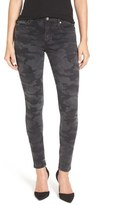 James Jeans 'Twiggy' Skinny Jeans (Grey Combat)