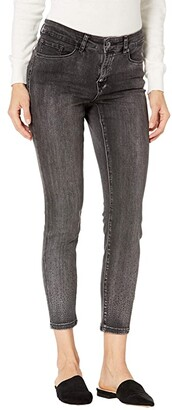 Tribal Audrey Five-Pocket Ankle Jeggings in Coal (Coal) Women's Jeans