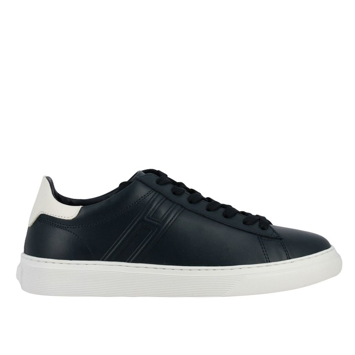 Hogan 365 Leather Sneakers With Big H - ShopStyle