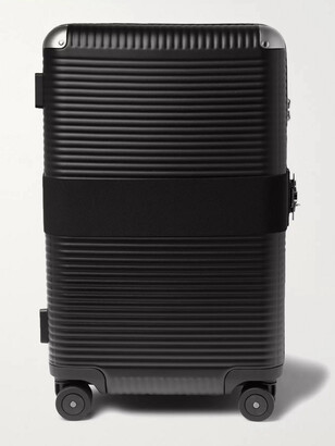 Fpm Milano + Marc Sadler Bank 73cm Leather-Trimmed Polycarbonate Suitcase