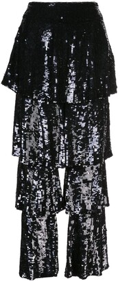 Osman Felix sequin trousers