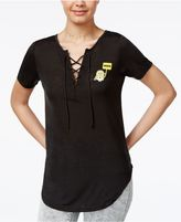 Hybrid Despicable Me Juniors' Nope Graphic T-Shirt