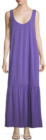 Mara Hoffman Valentina Scoop-Neck Coverup Maxi Dress