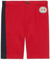 Thumbnail for your product : Gucci Baby stretch gabardine trousers