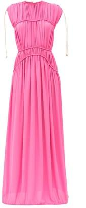 Maison Rabih Kayrouz Gathered Crepe Gown - Pink