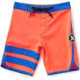 Hurley Big Boys 8-20 Color Block/Striped Block Party Board Shorts