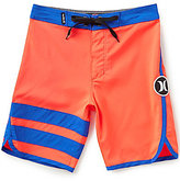 Hurley Big Boys 8-20 Color Block/Striped Block Party Boardshorts