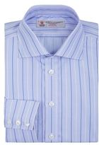 Turnbull & Asser Stripe And Houndstooth Slim Shirt