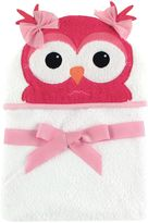 Baby Vision Hudson Baby® Owl Hooded Towel in White