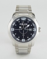 Police Sniper Watch In Stainless Steel