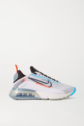 Nike Air Max 2090 Ripstop, Faux Leather And Mesh Sneakers - White