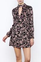 Honey Punch Floral Print Dress