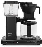 Technivorm® Moccamaster Coffee Maker with Glass Carafe, Black Metallic