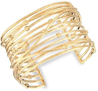 Rivka Friedman 18K Yellow Goldplated Cuff Bracelet