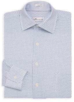 Peter Millar Ocean Cotton Dress Shirt