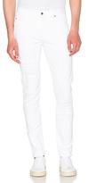 Helmut Lang Distressed Skinny Jeans