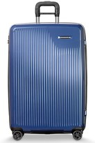 Briggs & Riley Men's 'Sympatico' Expandable Wheeled Packing Case - Blue