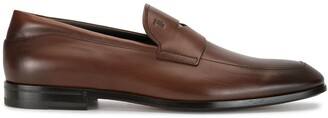 Tod's almond toe loafers