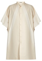 Issey Miyake Multi-panel tunic shirtdress